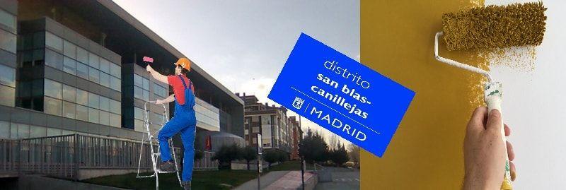 Pintores en San Blas Madrid