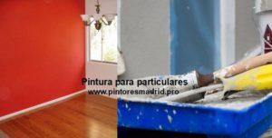 Pintores para Particulares en Madrid